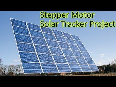 Ep. 56 Arduino based Solar Tracker - Stepper Motor & Light Resistor Tutorial