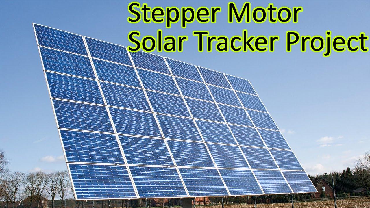 Ep 56 Arduino Based Solar Tracker Stepper Motor Amp Light