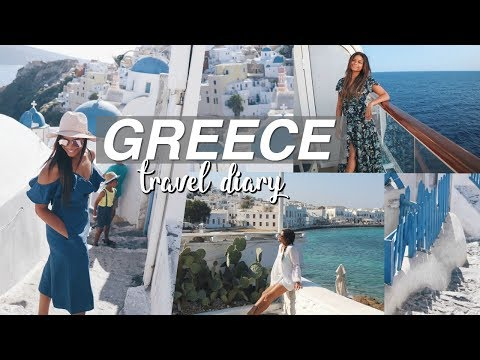 TRAVEL TO GREECE WITH ME | Outfit Ideas for Greece