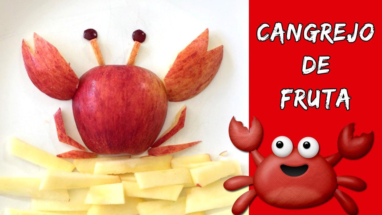 Cangrejo de fruta meriendas f ciles y r pidas para ni os for Como secar frutas para decoracion