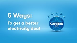 5 Ways to Get a Better Electricity Deal