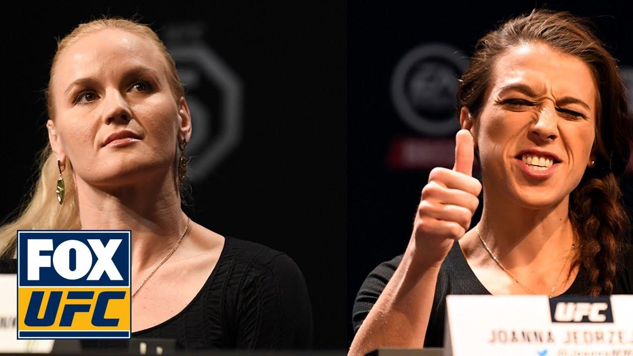 Valentina Shevchenko unfazed by Joanna Jedrzejczyk trash-talk before UFC 231