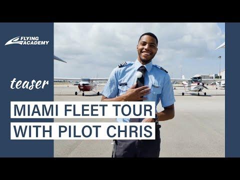 TEASER. Miami base fleet tour with Flying Academy pilot Chris