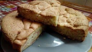 Шарлотка с яблоками - простой и быстрый рецепт Как приготовить яблочную шарлотку