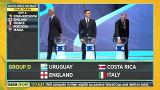 Video [1080p HD] Live Reaction to England's World Cup 2014 Draw download MP3, 3GP, MP4, WEBM, AVI, FLV Agustus 2018