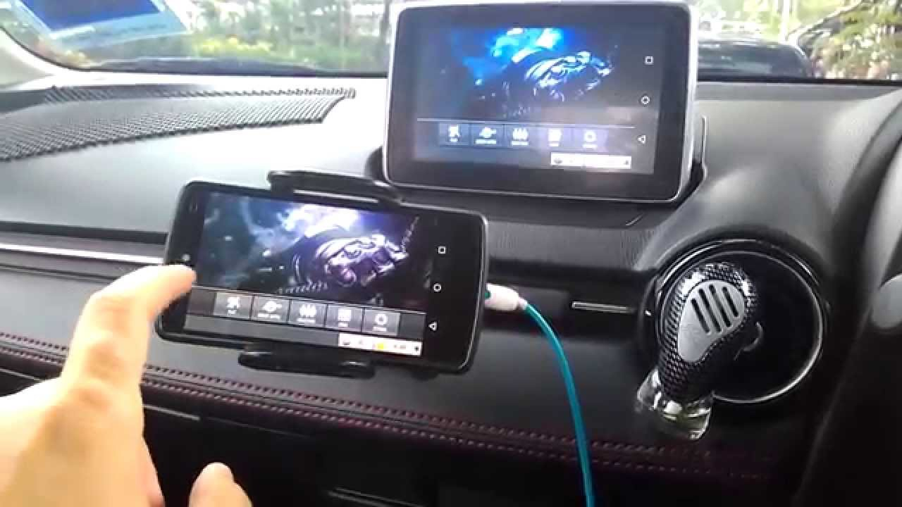 Mazda Mzd Connect Apps >> MZD Connect Wireless Screen Mirroring - YouTube