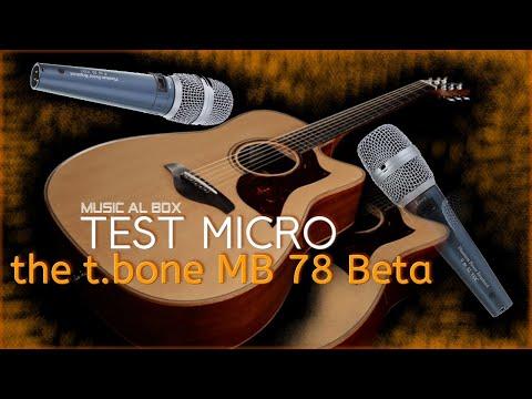 Test Micro the t.bone MB 78 Beta Yamaha A3M #thetbone
