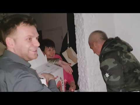 День Рождение))) Как Андрей отреагировал на собаку