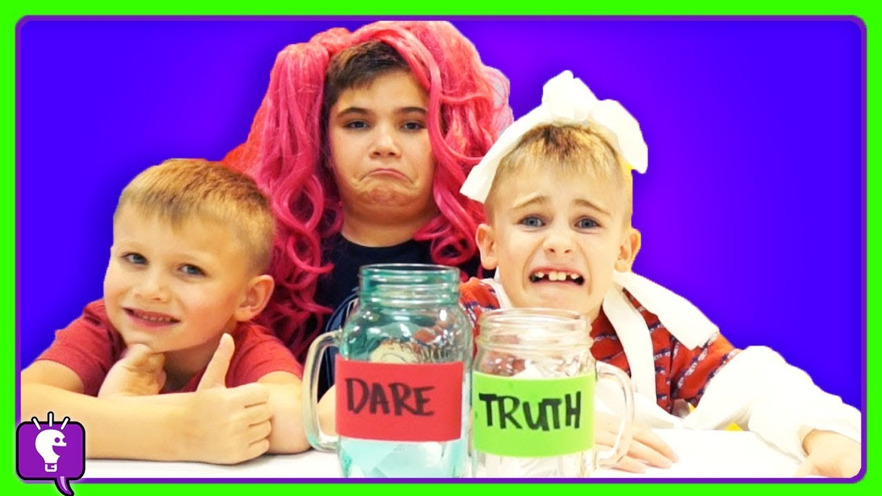 TRUTH or DARE Challenge with HobbyKidsTV!
