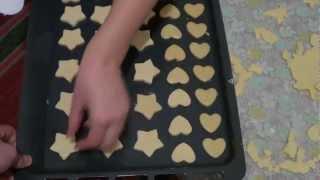 печенье песочное как приготовить видео