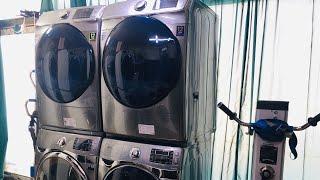21kg세탁기+16kg건조기 직렬연결(wd21h9400…
