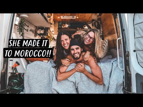 WEEK of VAN LIFE in Morocco (With Company)