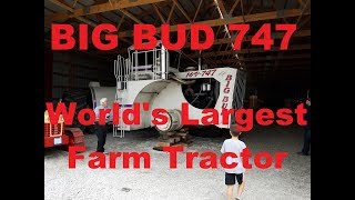 Big Bud 747 Worlds Largest Farm Tractor Detroit Diesel 16V92 Heartland Museum Clarion Iowa