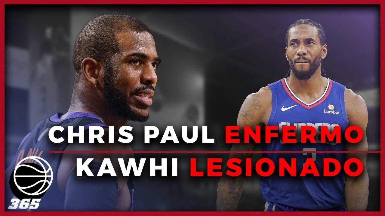 Chris Paul en aislamiento, Kawhi Leonard lesionado | BASKET 365