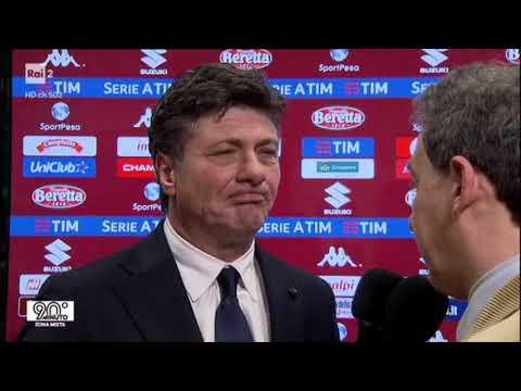TORINO - BOLOGNA 3-0 - Un gradito ritorno... mister Walter Mazzarri!!!