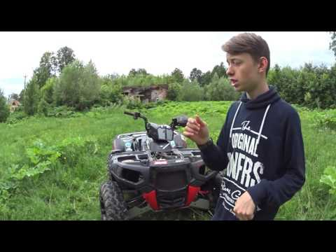 Обзор квадроцикла Polaris sportsman 850xp