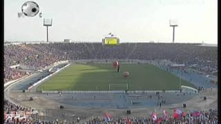 Así luce el estadio Nacional a una hora del partido Universidad de Chile Vs Liga de Quito.mpg