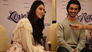 Exclusiv Interview With Loveyatri movie Celebs Aayush & warina in Kolkata