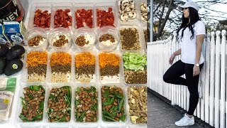 Meal Prep With Me: Carb cycling || MCD