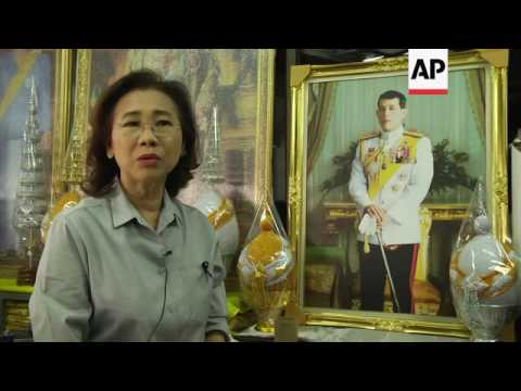 People rush to buy framed pictures of new King