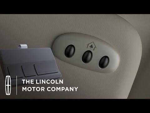 Using the Universal Garage Door Opener: Homelink® | How-To | Lincoln Mp3
