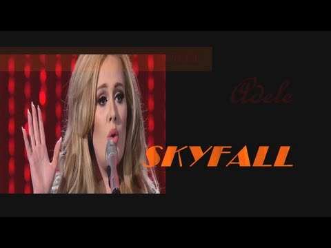 Adele - Skyfall ( live 2013 )( lyrics )
