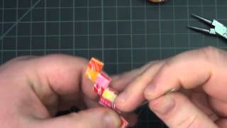 ☼ Adding Clasps to Candy Wrapper Bracelets ☼