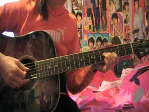 jonas brothers give love a try  guitar