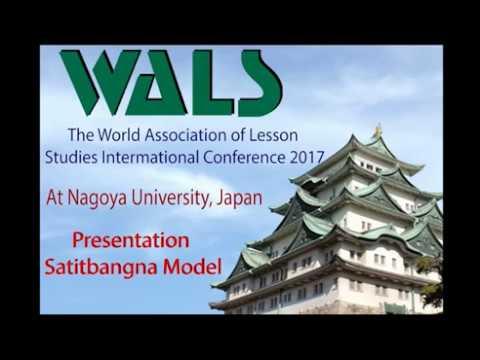 WALS At Nagoya University, Japan Presentation Satitbangna Model