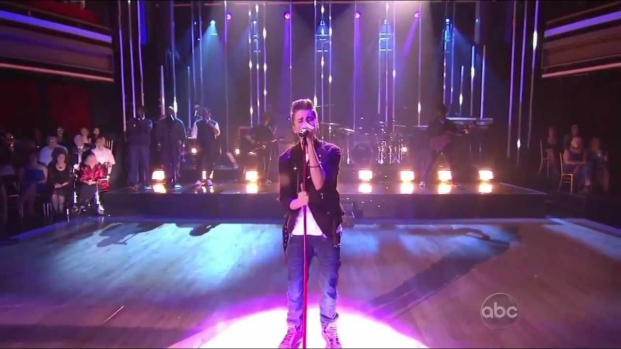 Download Justin Bieber ft. Boyz 2 Men - Fa La La - LIVE @ Dancing With The Stars - HD