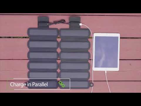 SolarCru:Smallest and <b>lightest foldable</b> solar panel charger - YouTube