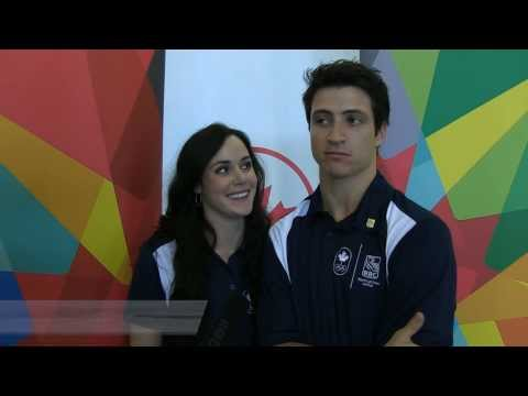 Sochi 2014 Blender: Tessa Virtue & Scott Moir answer some fun questions