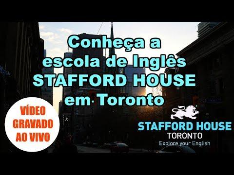 Conheça a STAFFORD HOUSE TORONTO