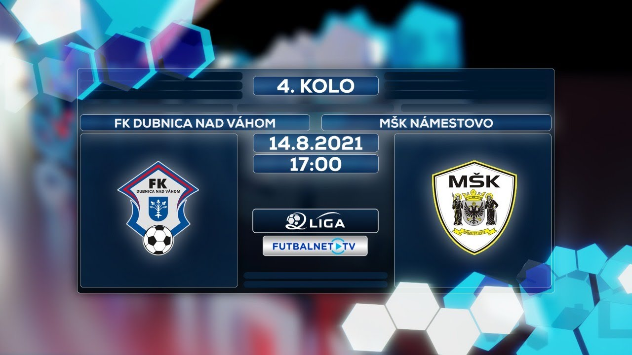 Download 2.liga 2021/2022 4.kolo: FK Dubnica nad Váhom - MŠK Námestovo