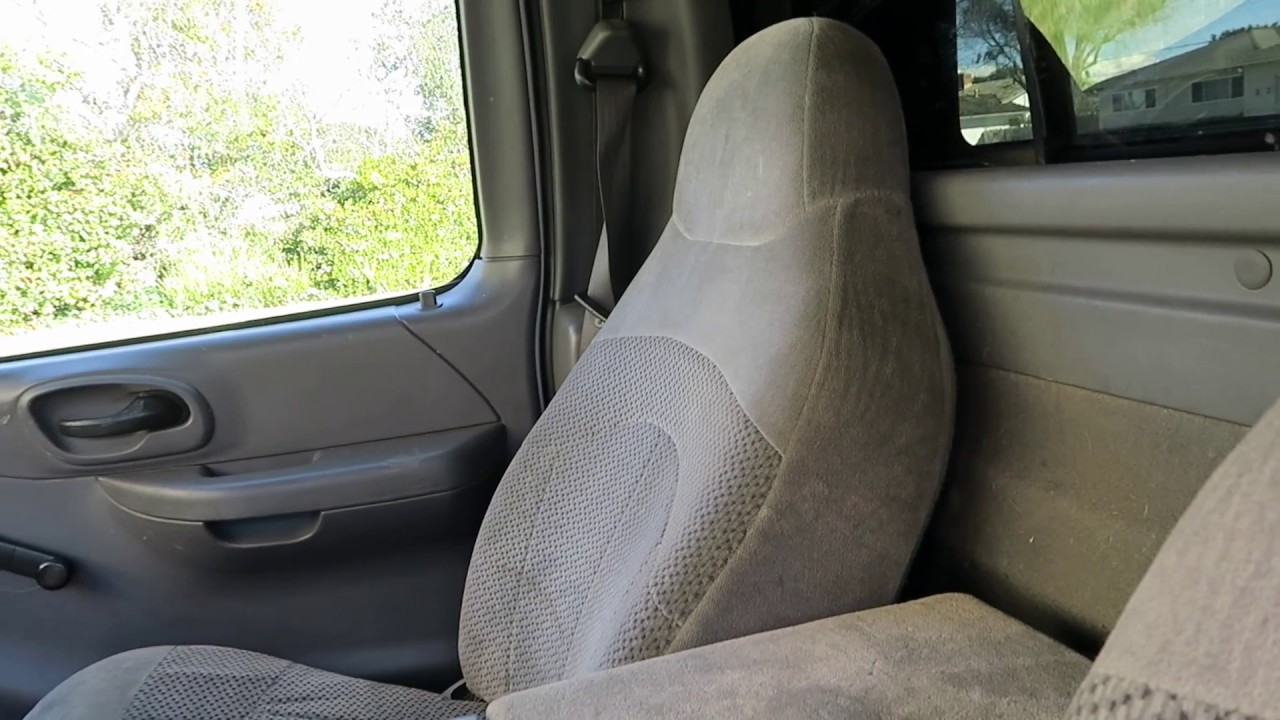1997 2003 Ford F150 Xl Seat Upgrade Strongman Garage Youtube