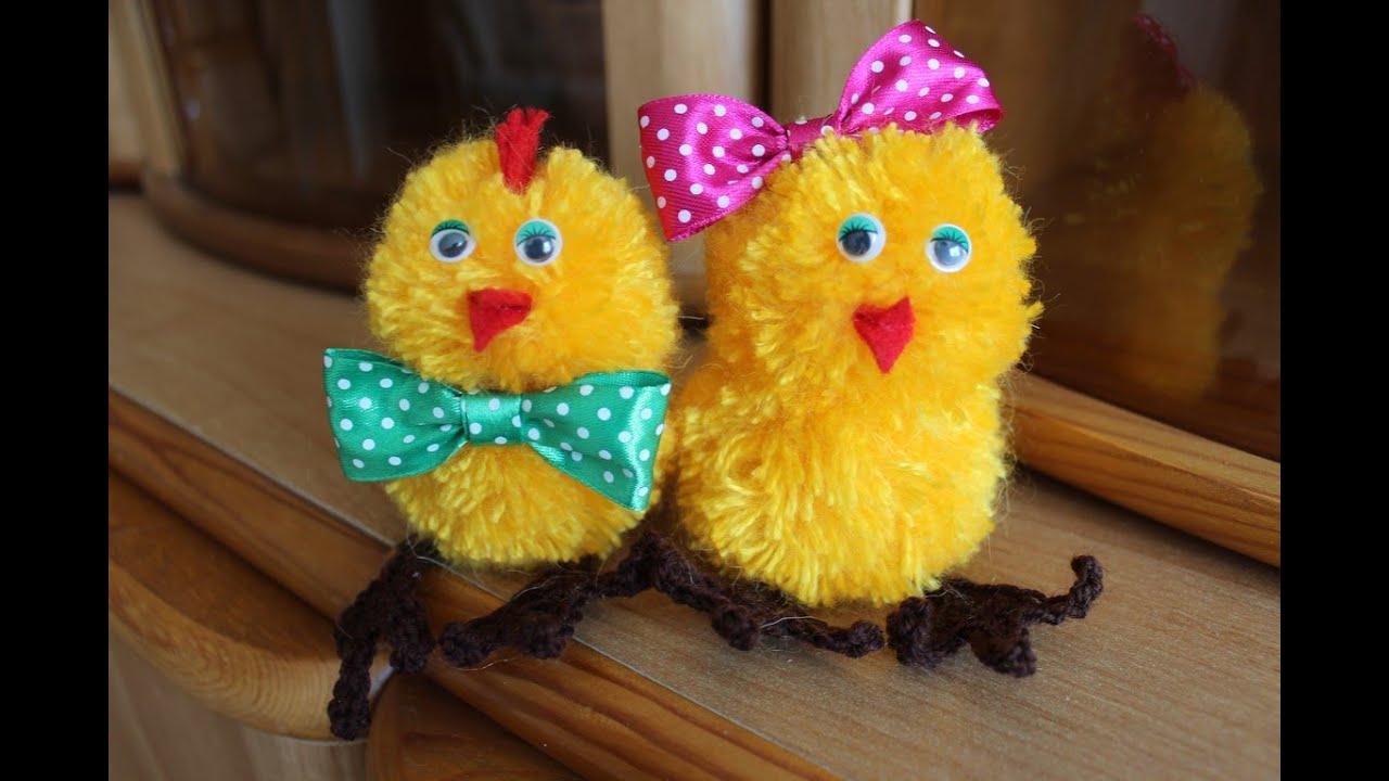 Цыплята игрушка своими руками