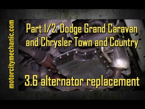 Part 1 2 Grand Caravan And Town And Country 3 6 Liter Alternator