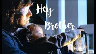 Carl & Judith Grimes; Hey Brother
