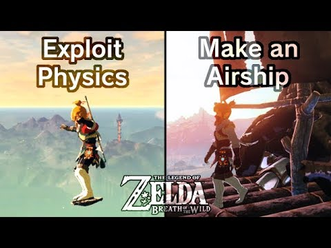 """BotW Glitches & Tricks: Bullet-Time Physics, & """"Spaceships"""""""