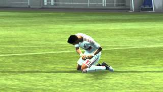 PES 2013 - Penalty shootout [Arsenal vs Milan]