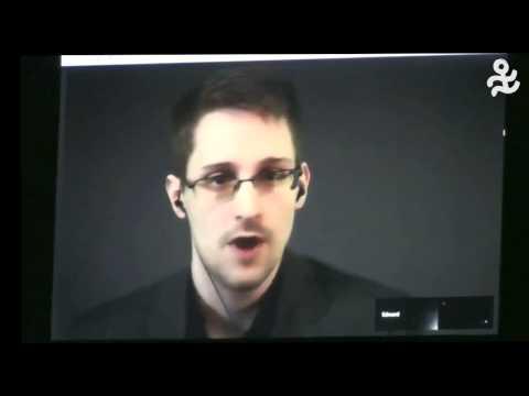 Stuttgarter Friedenspreis 2014: Dankesworte von Edward Snowden
