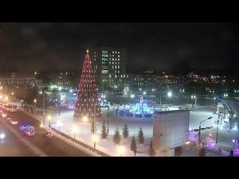 Камера на площади Новособорной, г.Томск