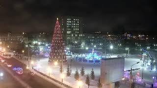 Камера на площади Новособорной г.Томск