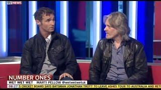 Wet Wet Wet - Step By Step The Greatest Hits interview - Sunrise (Sky News)