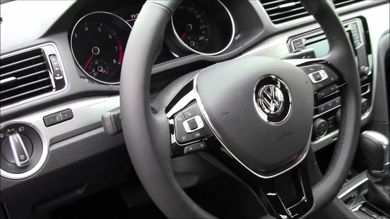 2016 Volkswagen Passat Trendline Plus Review With Robert