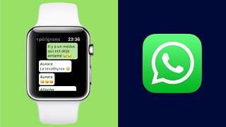WhatsApp pour Apple Watch !