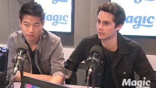 Maze Runner The Scorch Trials stars Dylan O39;Brien and Ki Hong Lee