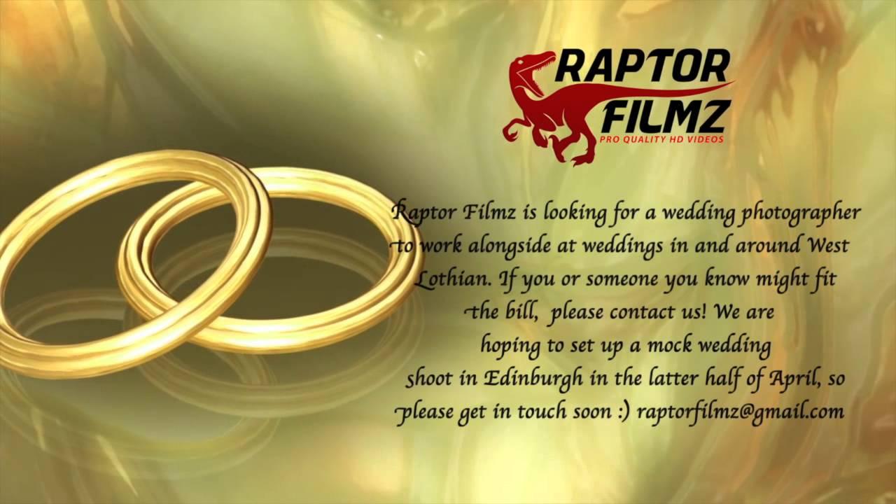 Wedding Photographer Ad