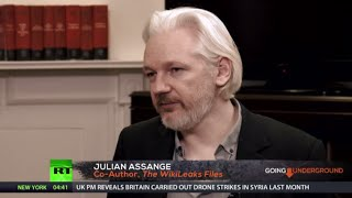 Assange on 'US Empire', Assad govt overthrow plans & new book 'The WikiLeaks Files' (EXCLUSIVE)