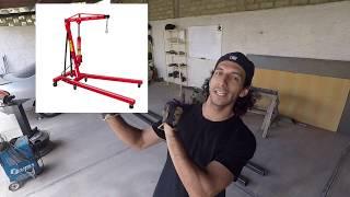 Fabricamos la Grua para Sacar el Motor  | Proyecto Nissan Sentra